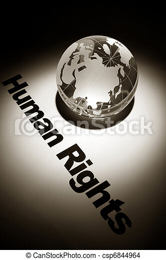 Human Rights - csp6844964