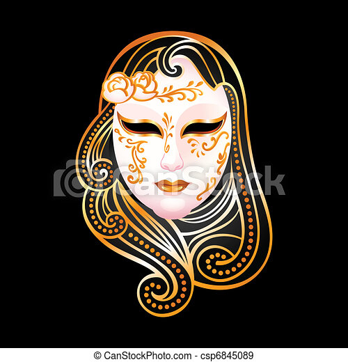 Golden mask - csp6845089