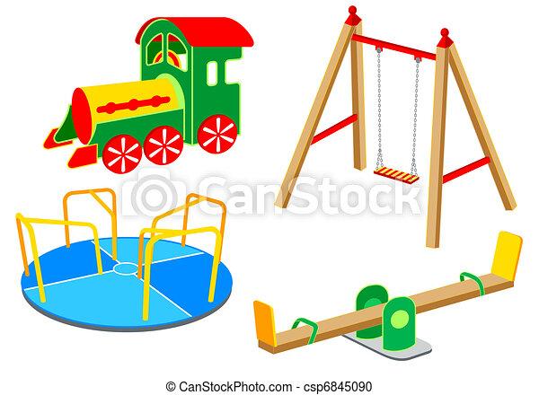 Playground equipment | Set 1 - csp6845090