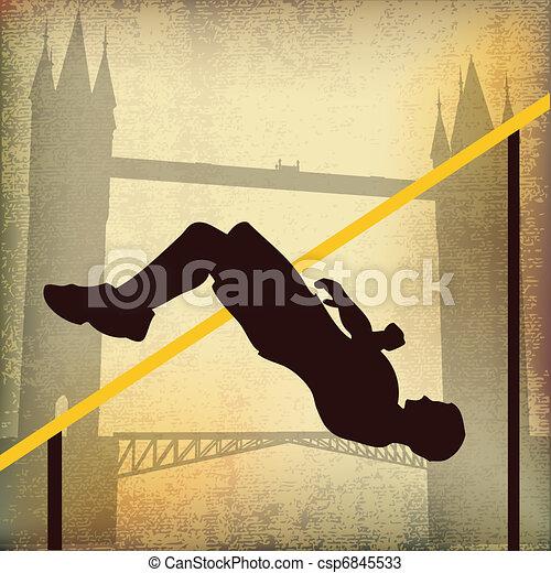 London 2012, High Jump - csp6845533
