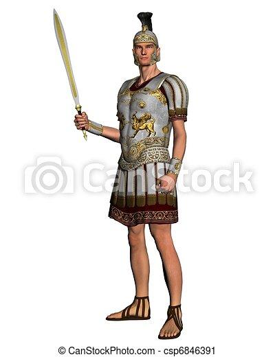 Roman General - csp6846391