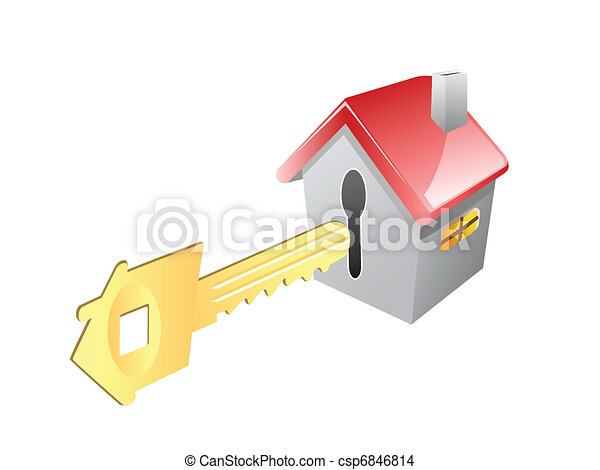 key for house - csp6846814