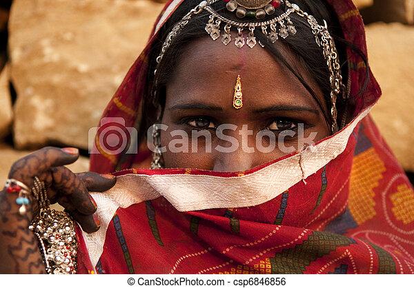 Indian woman - csp6846856