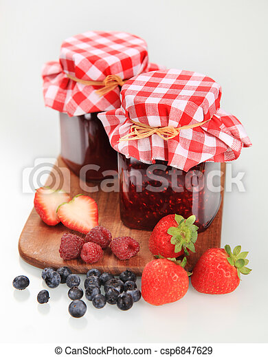 Fruit preserves - csp6847629