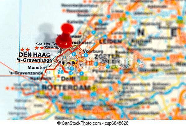 Travel destination Den Haag - csp6848628