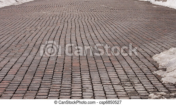 Brick Road - csp6850527