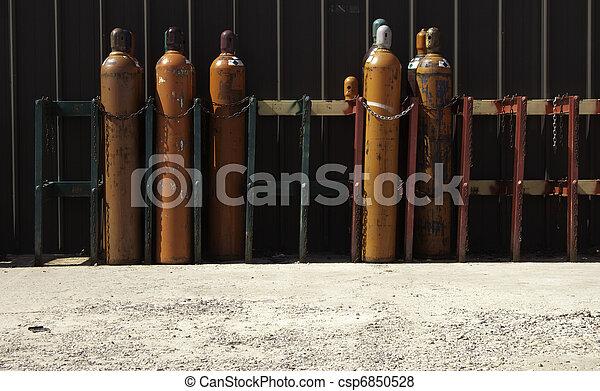 Industrial Gas Bottles-3 - csp6850528