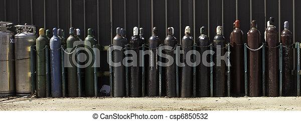 Industrial Gas Bottles-2  - csp6850532