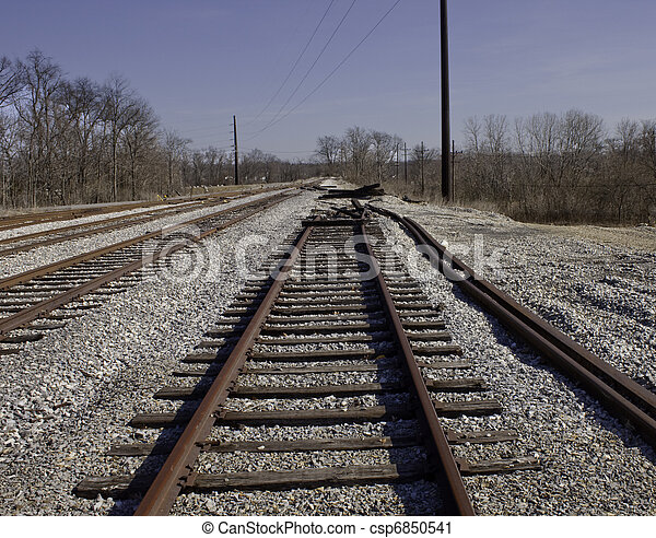 End of the line - csp6850541