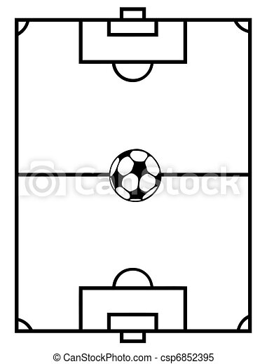 Soccer Field - csp6852395