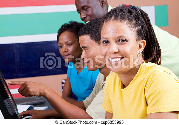 adult african american students - csp6853995