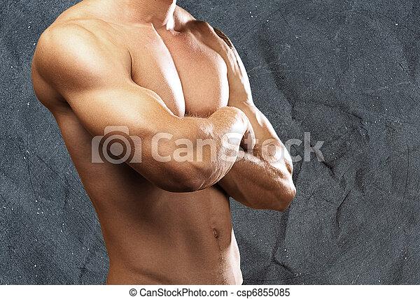 fuerte, torso - csp6855085