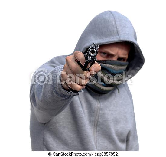 Youth Gun Crime - csp6857852