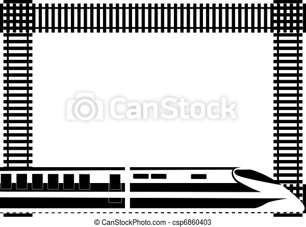 Rail passenger transport - csp6860403