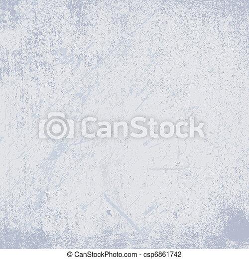 Grunge background pastel blue. EPS 8 - csp6861742