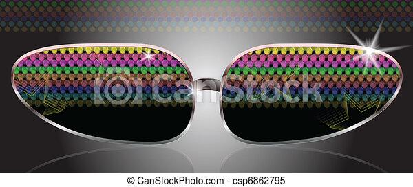 sun eye glasses - csp6862795