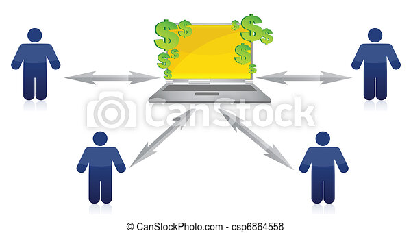 Wealth Distribution and online - csp6864558
