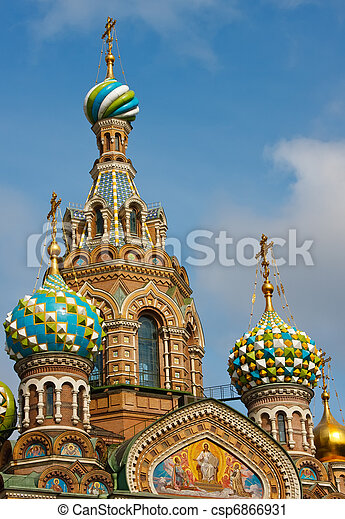 Church of the Savior on Spilled Blood, St. Petersburg - csp6866931