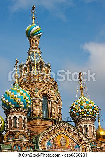 Church of the Savior on Spilled Blood, St. Petersburg - csp6866931