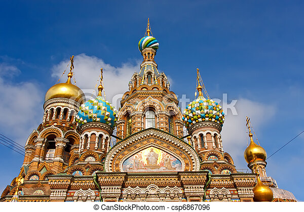 Church of the Savior on Spilled Blood, St. Petersburg - csp6867096