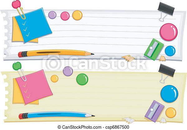 Preschool Banner - csp6867500