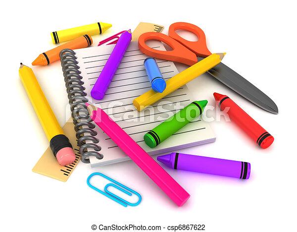 Preschool Supplies - csp6867622