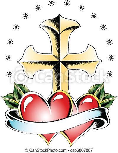 Voir Des Photos De Tatouages De Croix Chretienne