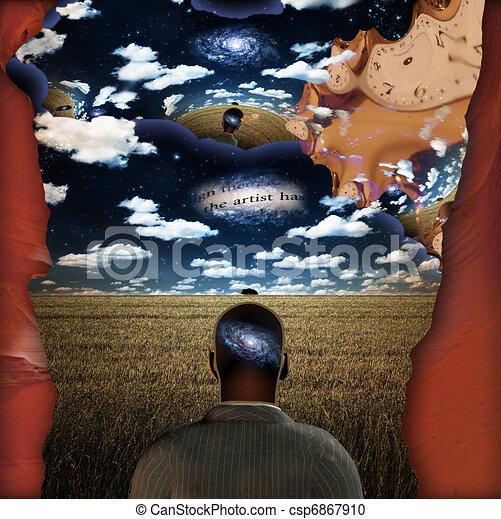 Dream Mind - csp6867910