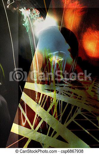 Sci Fi Industrial - csp6867938