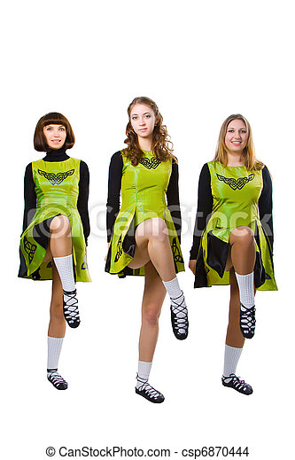 Irish dancers - csp6870444
