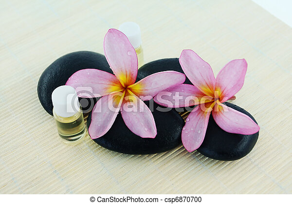 spa stone and fragrance - csp6870700