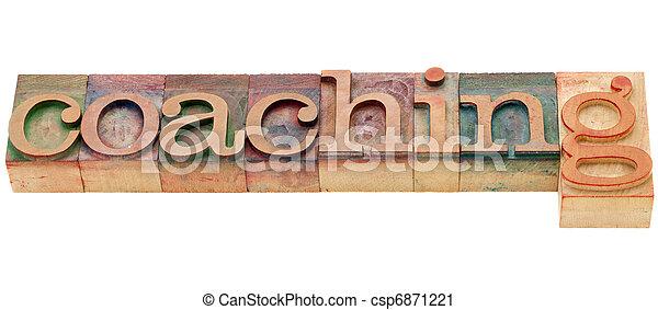 coaching word - csp6871221