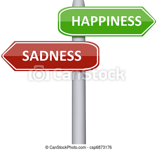 Happiness and Sadness - csp6873176