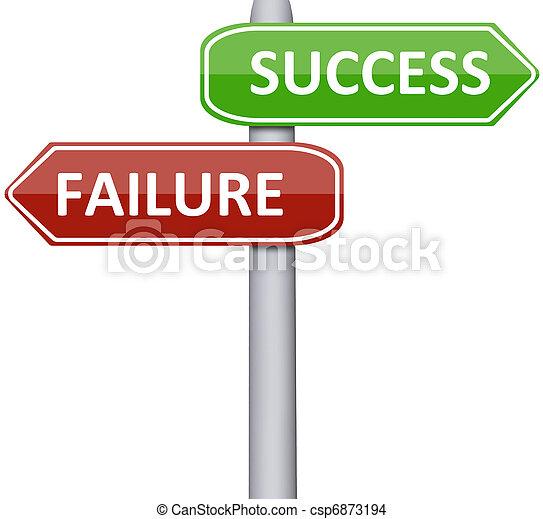 Failure and success - csp6873194