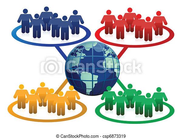 Global communication concept - csp6873319