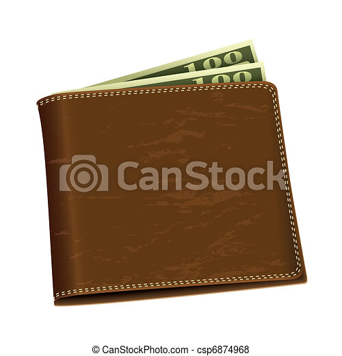 Dollar money wallet - csp6874968