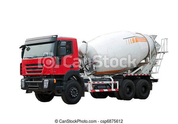 Concrete mixer - csp6875612