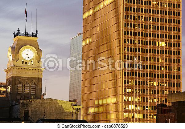 Historic city hall in Louisville - csp6878523