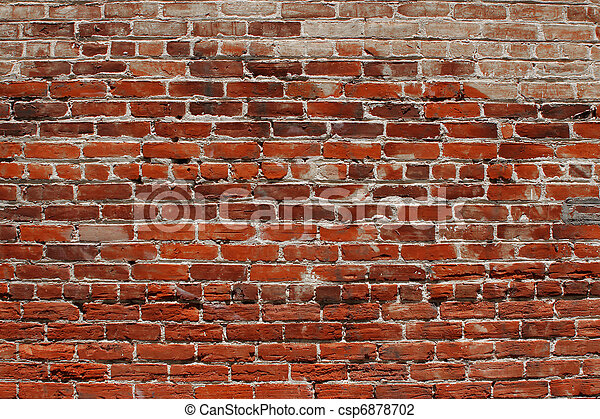 Brick wall background - csp6878702
