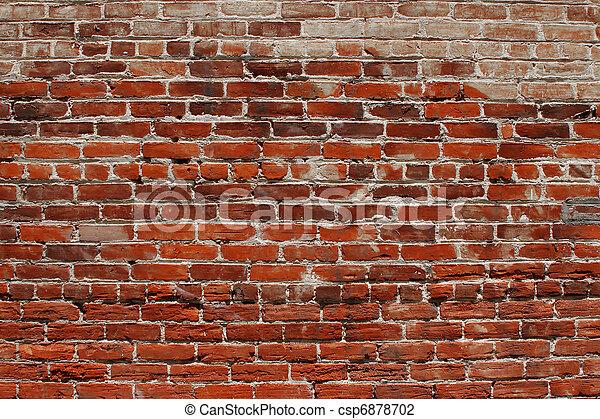 Brick wall background - csp6878702