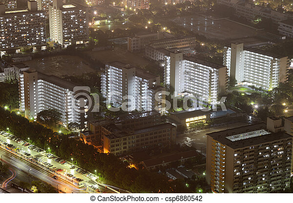 Residential High Rises - csp6880542