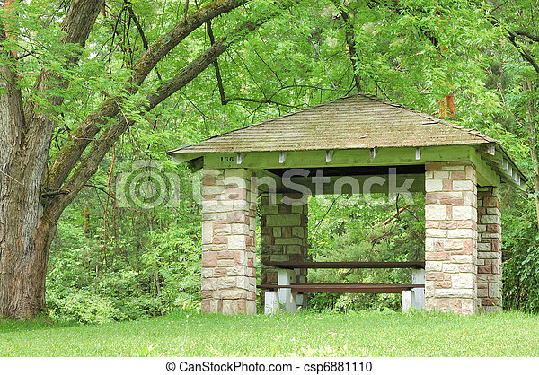 Picnic Shelter - csp6881110