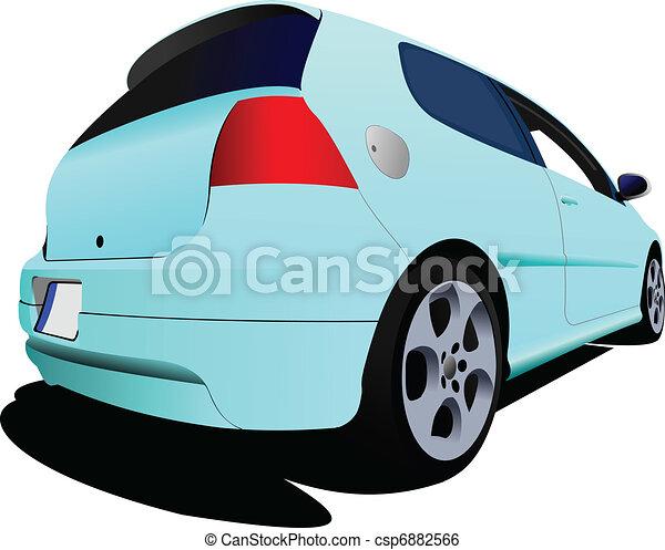 luz azul coche: