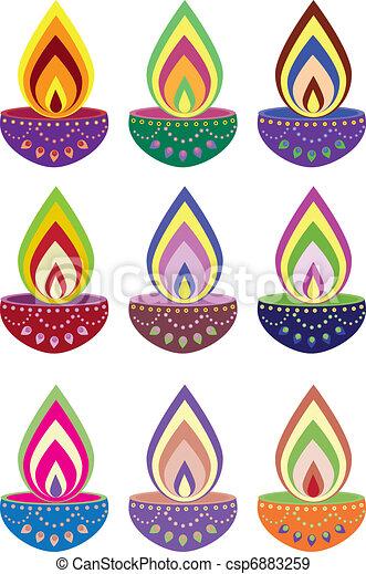 Oil lamp - csp6883259