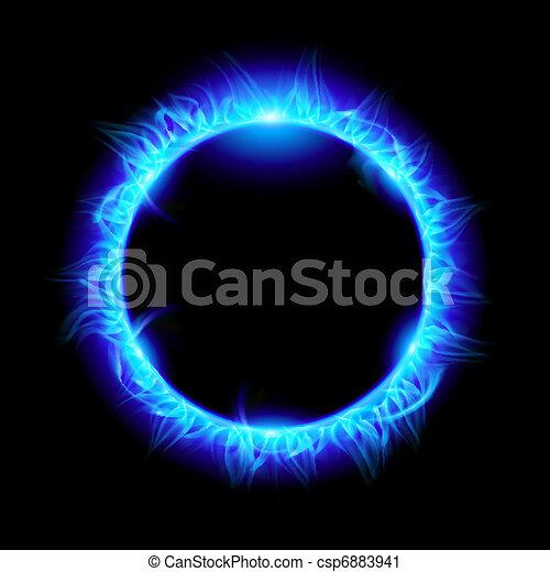Solar eclipse - csp6883941
