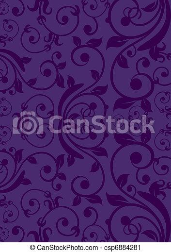 Purple Vintage background - csp6884281