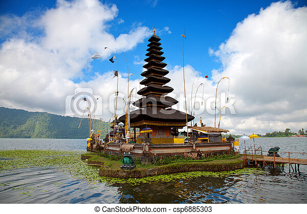 Pura Ulun Danu temple Bali - csp6885303