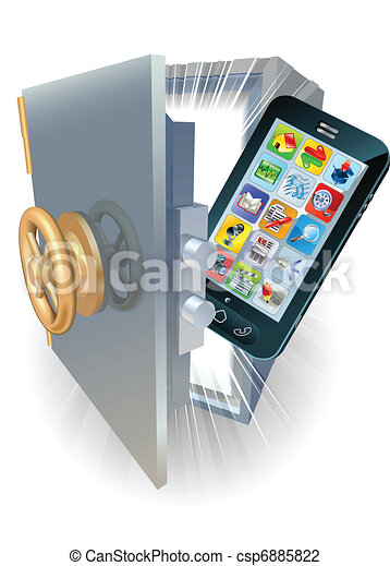 Phone protection concept - csp6885822