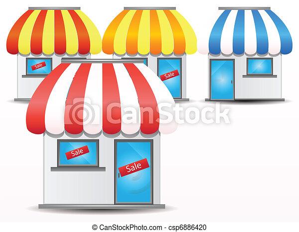shop icon - csp6886420