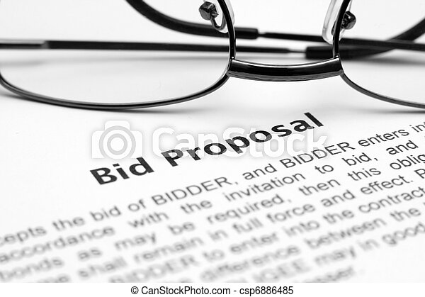 Bid proposal  - csp6886485